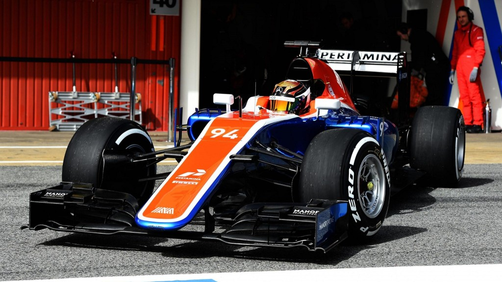 Manor-Mercedes MRT05-2