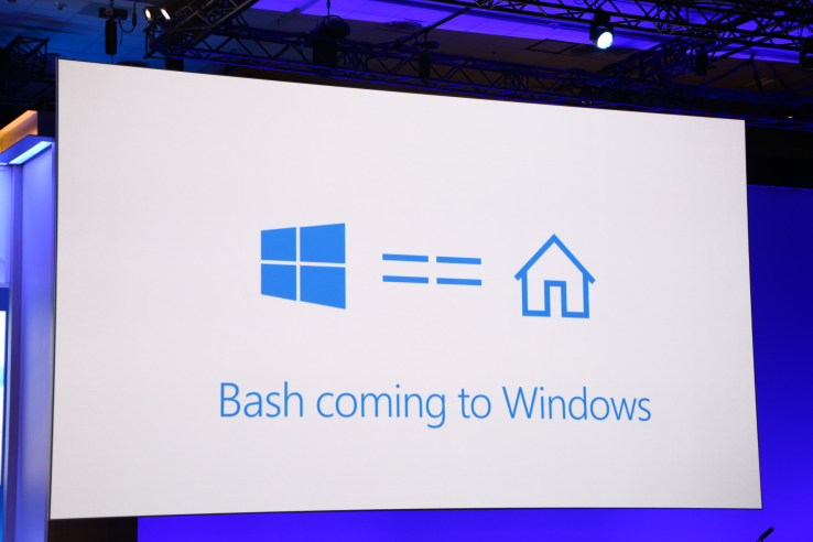 Bash tích hợp Windows 10