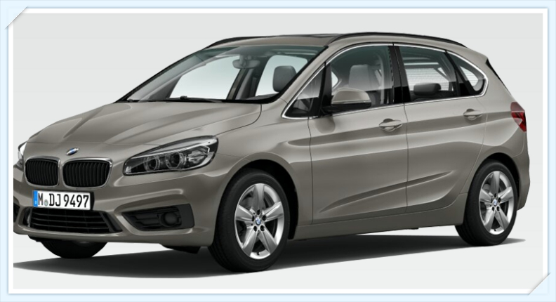 BMW 218i Active Tourer - view_tintoantap