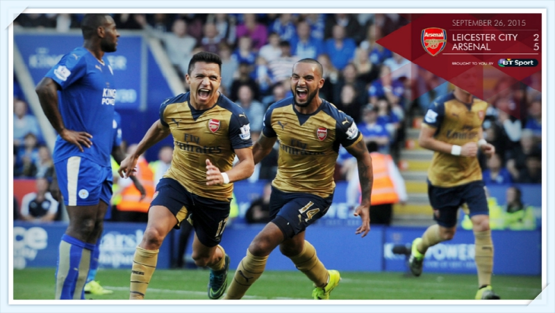 Leicester City - Arsenal FC 2-5_tintoantap