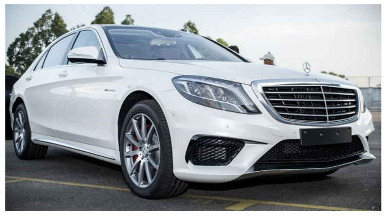 Mercedes S63 AMG-tintoantap