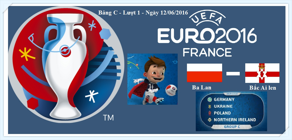 Euro 2016 - Group C - Ba lan -Bac ai len - Polan - North Ireland_tin-toan-tap