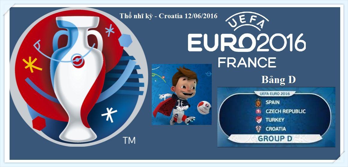 Euro 2016 - Group D_Turkey -croatia -12-06-2016