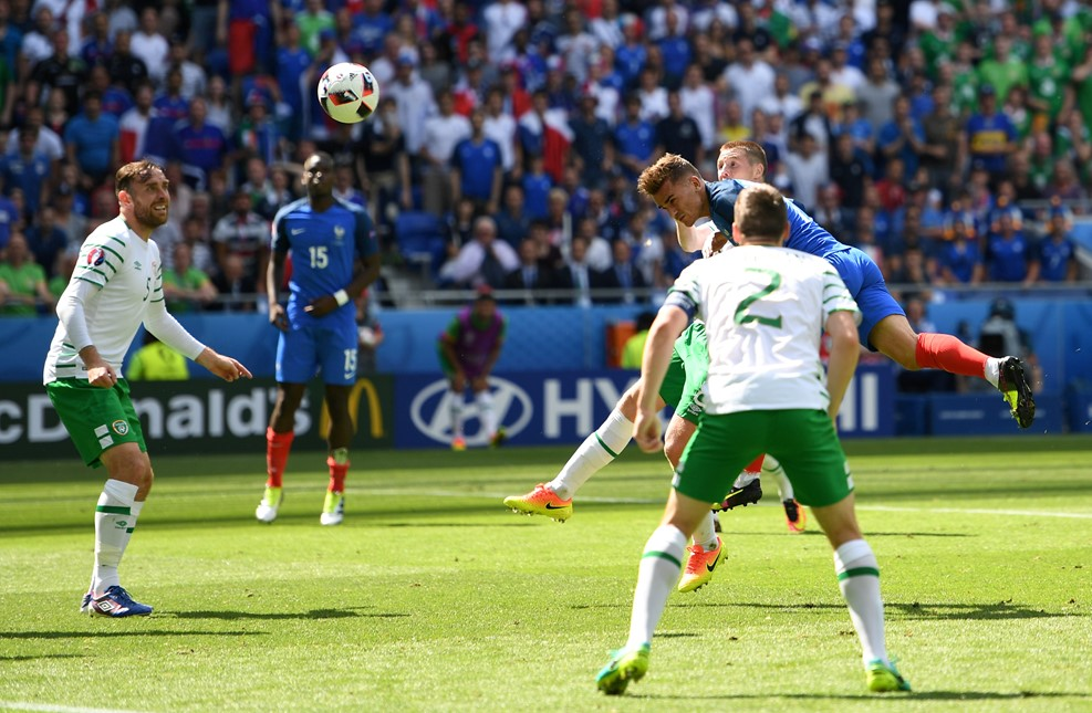 Euro 2016 - phap - ch ai len du doan ti so - France vs Republic of Ireland Line up - Dien bien tran dau 03