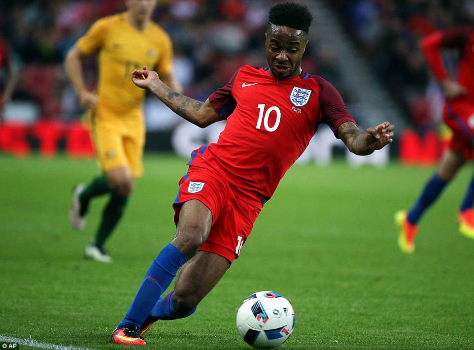 Raheem Sterling is the most valuable player in England's Euro 2016