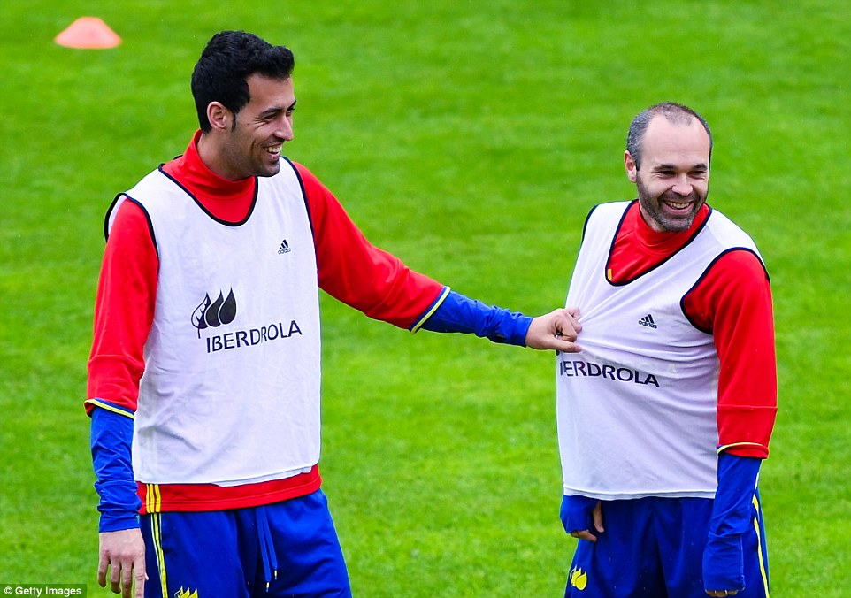 Sergio Busquets is the most valuable player in Spain's Euro 2016