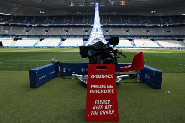 Stade-De-France - Euro 2016 opening ceremony - 10-06-2016 -02