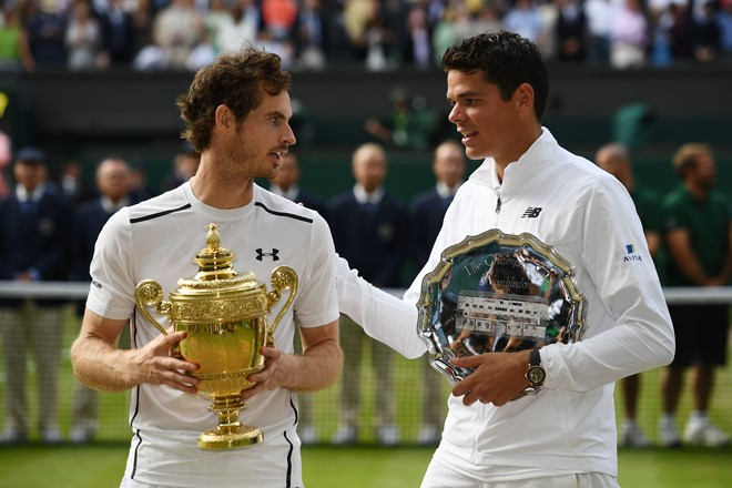 Andy Murray danh chuc vo dich Winbledon 2016