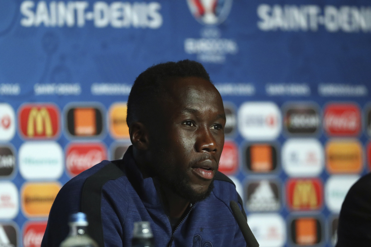SAINT DENIS, FRANCE - JULY 09: In this handout image provided by Bacary Sagna of France attends a press conference at Stade de France on July 9, 2016 in Saint Denis, France. (Photo by Handout/Getty Images) Picture credit: UEFA (Handout photo provided by UEFA. Only editorial use relating to the event described is permitted. Photo may be distributed to third parties to use for the same purpose provided that no charge is made).