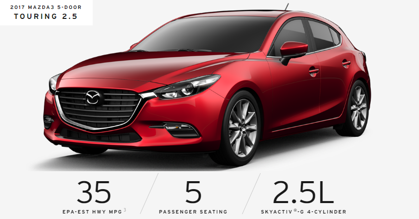 Mazda3 Hatchback 2017 - Touring 2.5