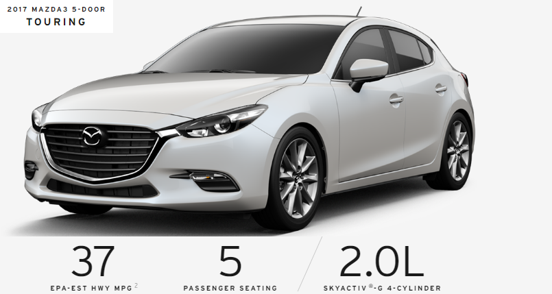 Mazda3 Hatchback 2017 - Touring