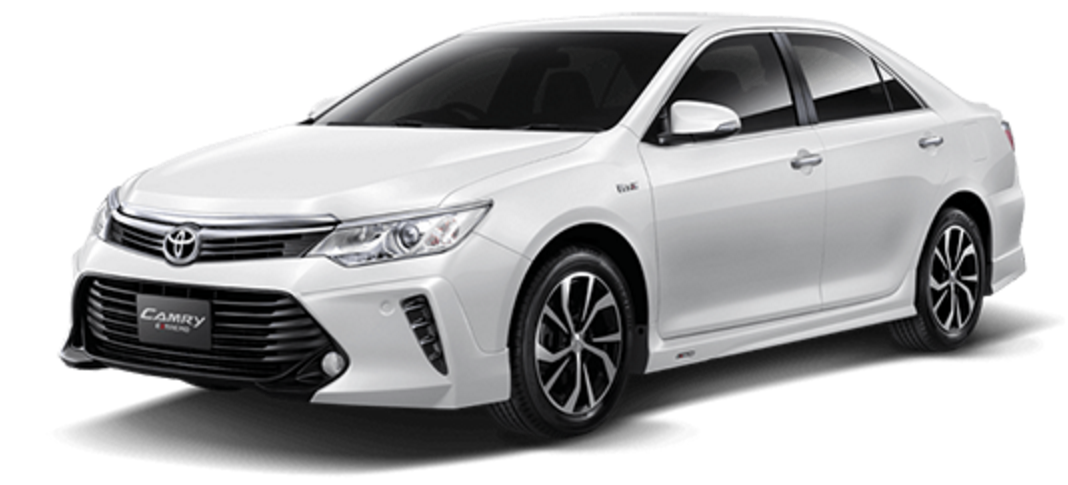 Toyota Camry 2017 - White Pearl Crystal
