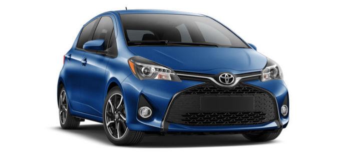 Toyota Yaris 2017 - BLUE STREAK METALLIC