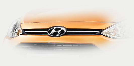 hyundai grand i10 hatchback 2017 - grill