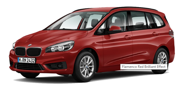BMW 218i Gran Tourer - Flamenco Red