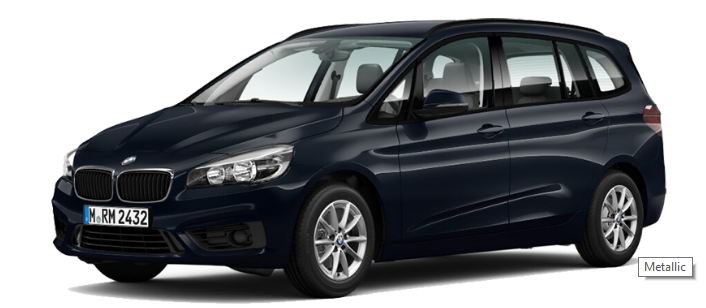 BMW 218i Gran Tourer - Metallic