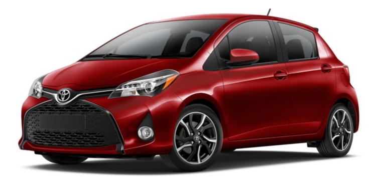 2017 Toyota Yaris Hatchback 5-Door L